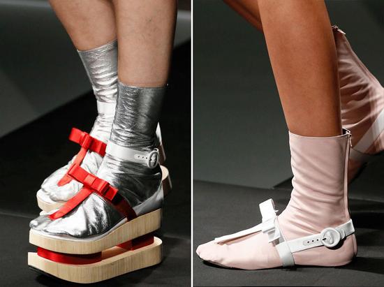 PRADA 2013春夏系列分趾鞋款